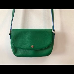 Talbots Emerald Green Crossbody bag. Carried once